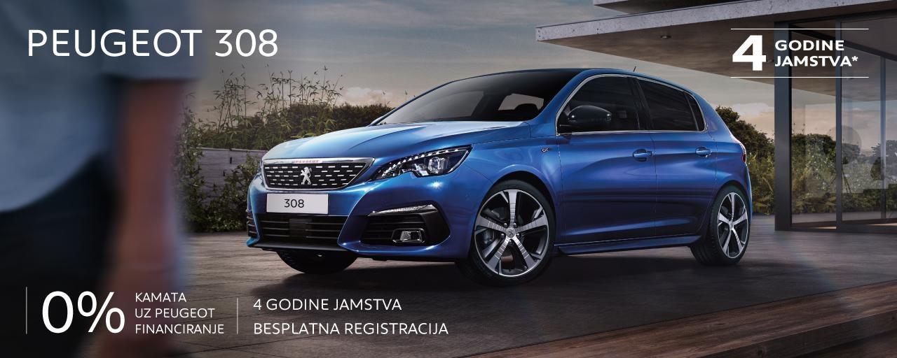 Posebna ponuda Peugeot 308