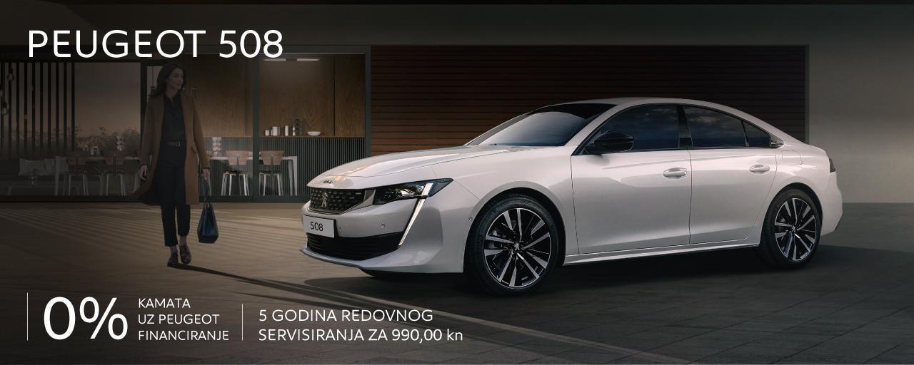 Posebna ponuda Peugeot 508
