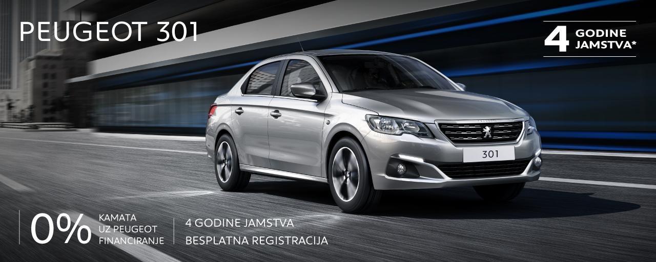 Posebna ponuda Peugeot 301
