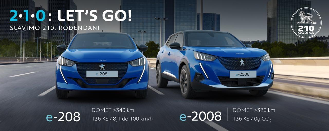 Peugeot električna vozila