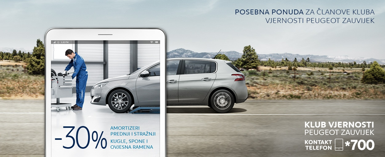 Peugeot Akcija Amortizeri