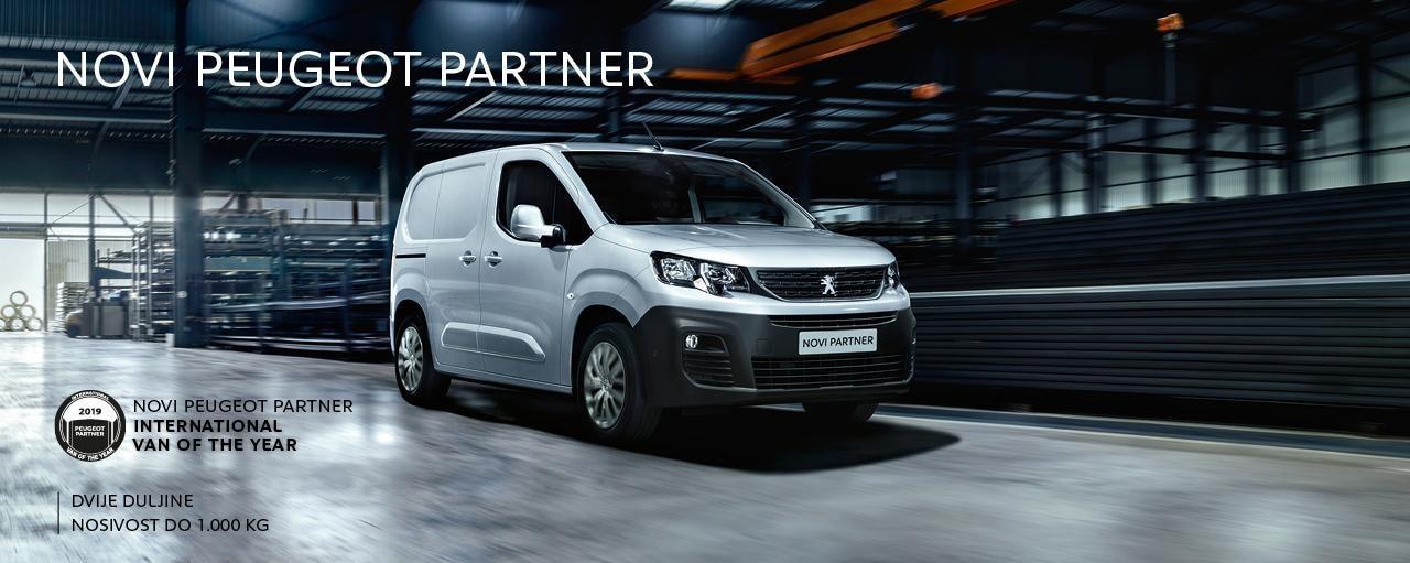 Novi Peugeot Partner - 1250x512