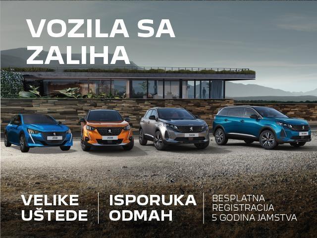 Peugeot zalihe