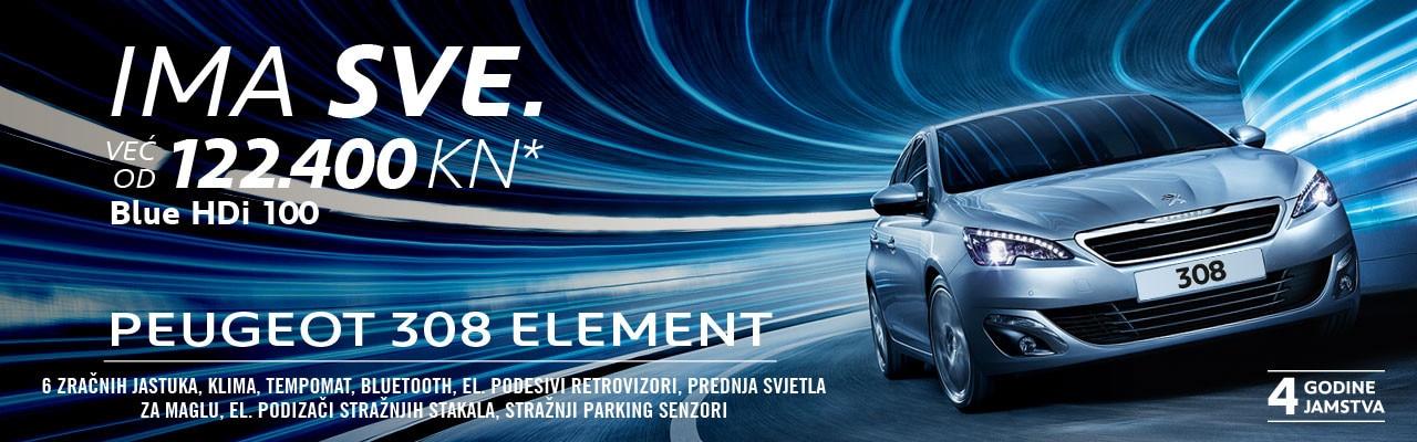 308 Element BlueHDi 100