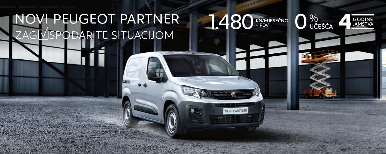 Novi Peugeot Partner -01022019-30042019