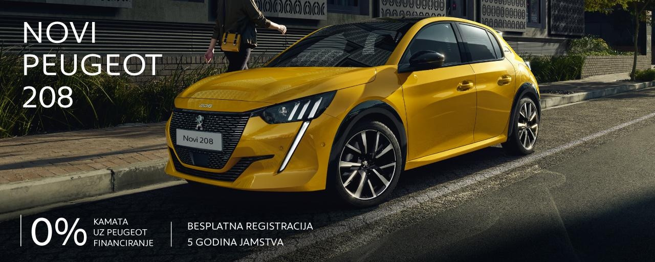 Posebna ponuda Peugeot 208