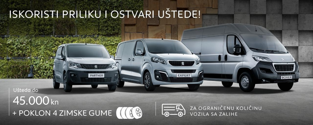 Posebna ponuda Peugeot LKV