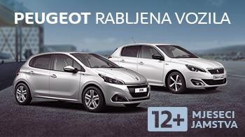 Peugeot Rabljena Vozila