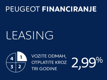 Peugeot financiranje leasing