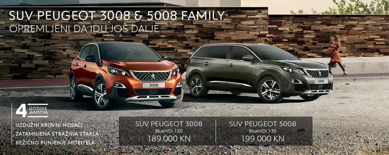 3008 i 5008 Family